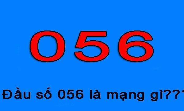 Bạn đã biết đầu số 056, 058 là của mạng gì?